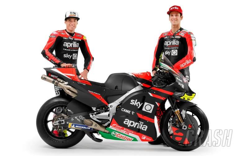 Aprilia Optimistis Kejar Rival di MotoGP Musim 2021