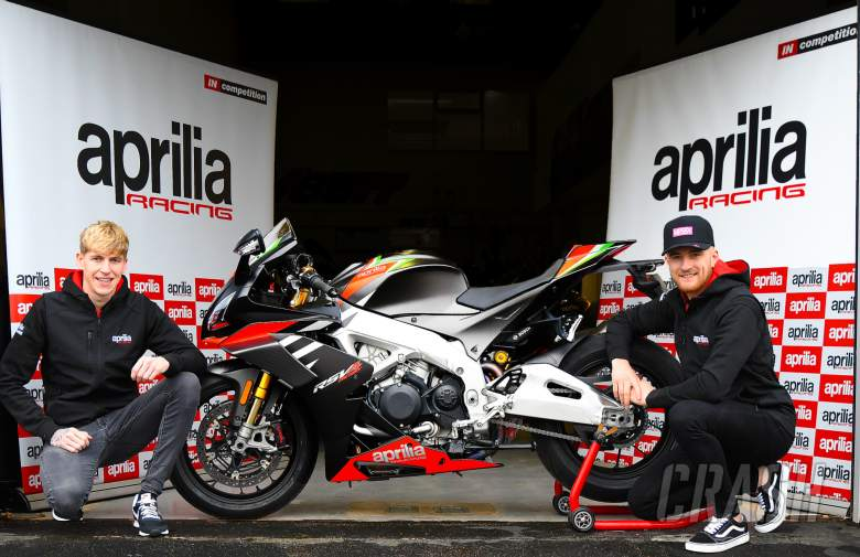 Fraser Rogers and Ben Luxton confirmed at Aprilia IN Competition for 2021