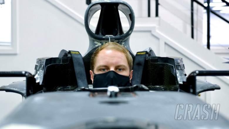 Valtteri Bottas completes Mercedes F1 seat fit ahead of 2021 season.