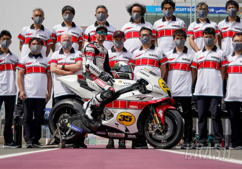Special 60th anniversary Yamaha livery for Cal Crutchlow