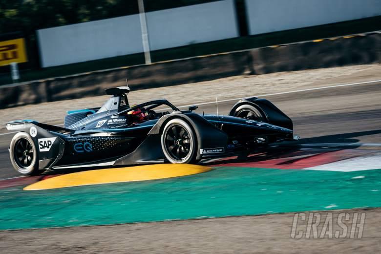 "Mercedes Formula E team completes ""successful"" first test"