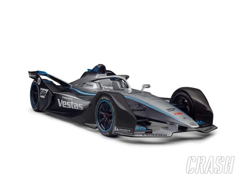 Mercedes unveils FE car; announces de Vries, Vandoorne