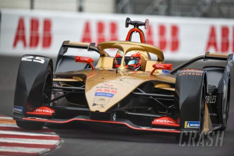 Vergne menangkis Rowland untuk kemenangan Monaco E-Prix FE