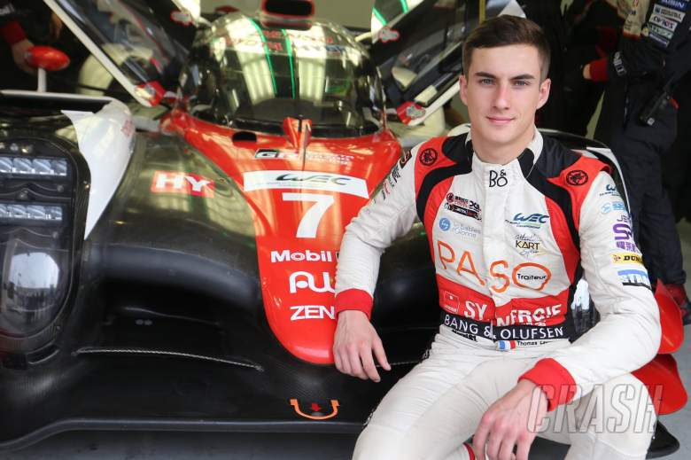Laurent joins Toyota as test and reserve driver for 2019/20