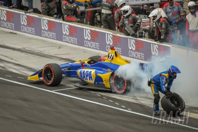 IndyCar Grand Prix Indianapolis - Hasil Perlombaan