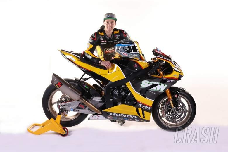 TAG Honda unveil 2021 British Superbike livery ahead of testing