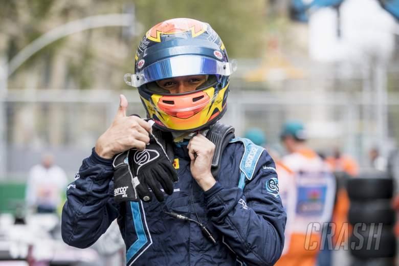 Albon beats Norris to maiden F2 polein Baku