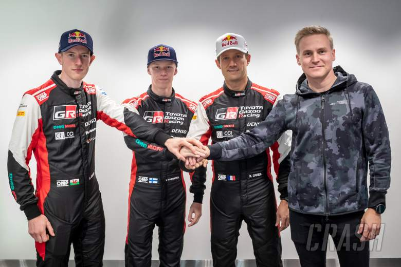 Lappi completes Toyota's 2022 WRC driver line-up