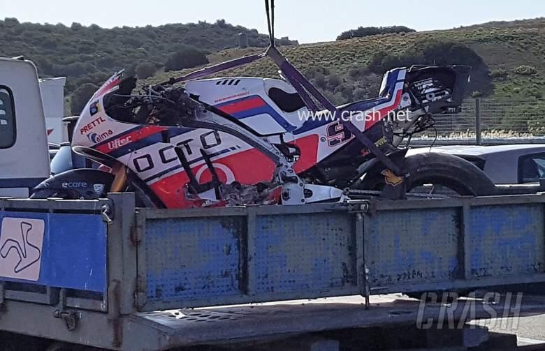 PICTURE: Inside the Ducati 'salad box'…