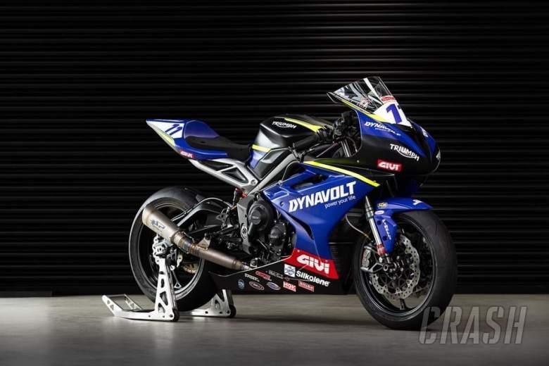 Dynavolt Triumph Street Triple 765 RS 2021 British Supersport bike unveiled