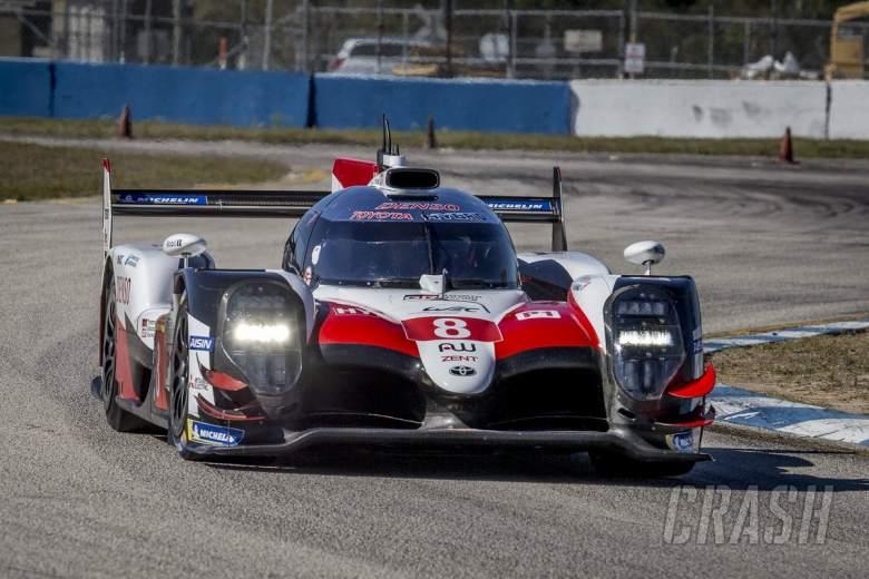 Toyota di trek di Sebring dalam persiapan untuk balapan WEC