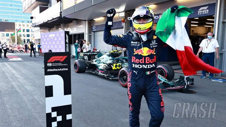 Perez wins Azerbaijan GP, Verstappen and Hamilton fail to score