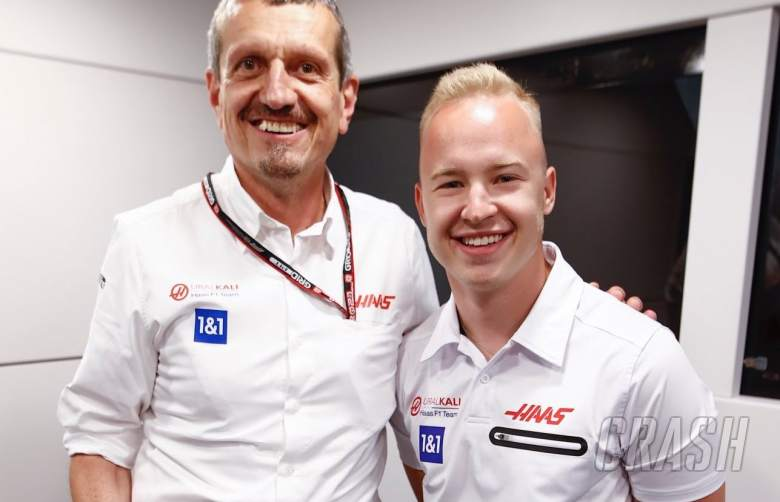 'So you can keep on Mazespinning' - Haas F1 team gifts Mazepin spinning top