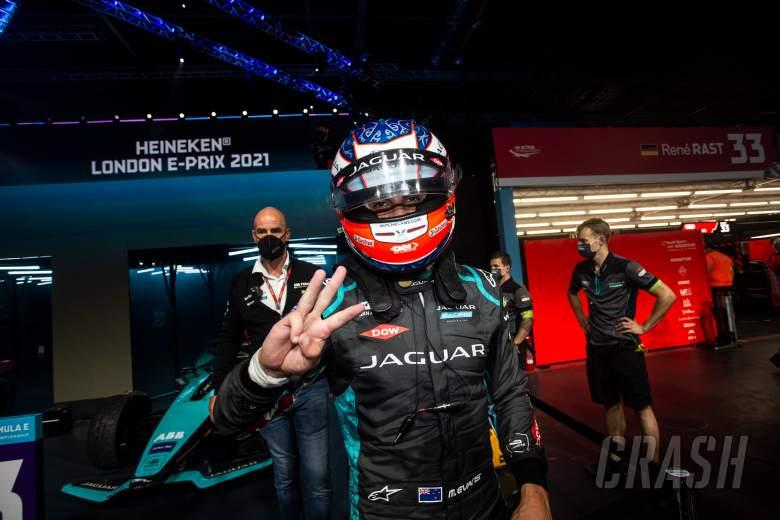 Evans commits to Jaguar in 'multi-year' Formula E deal