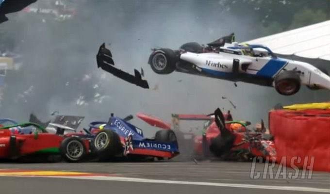'I had an angel on my shoulder' - W Series drivers unhurt in horror Spa crash