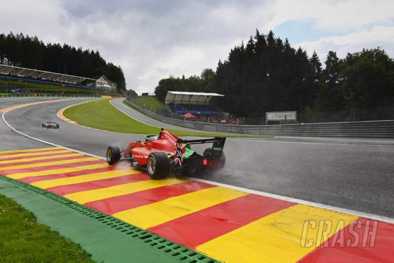 Two W Series drivers taken to hospital after six-car Eau Rouge crash