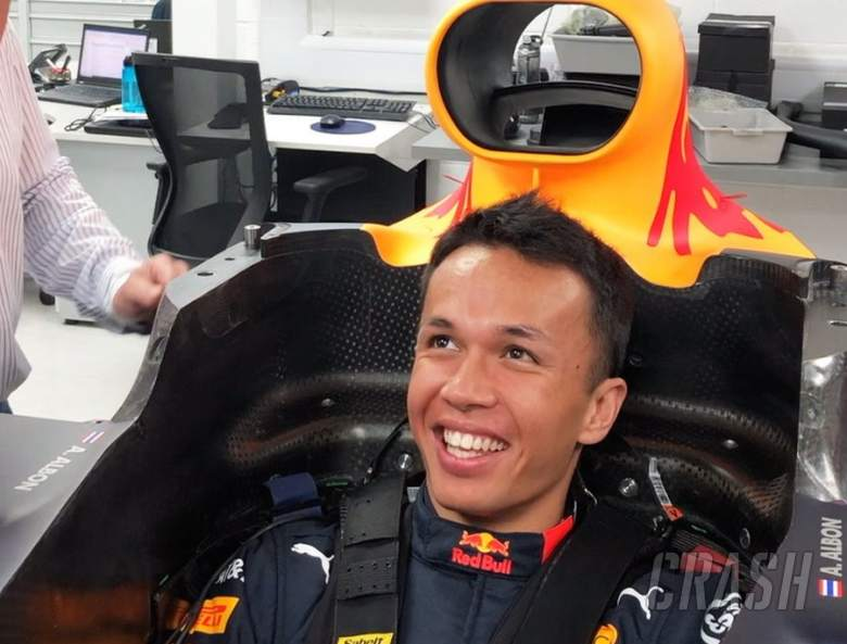 Albon enjoys first day at Red Bull ahead of Spa debut