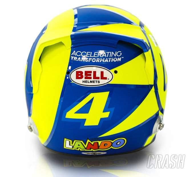 Norris akan balapan dengan helm penghormatan Rossi di Monza