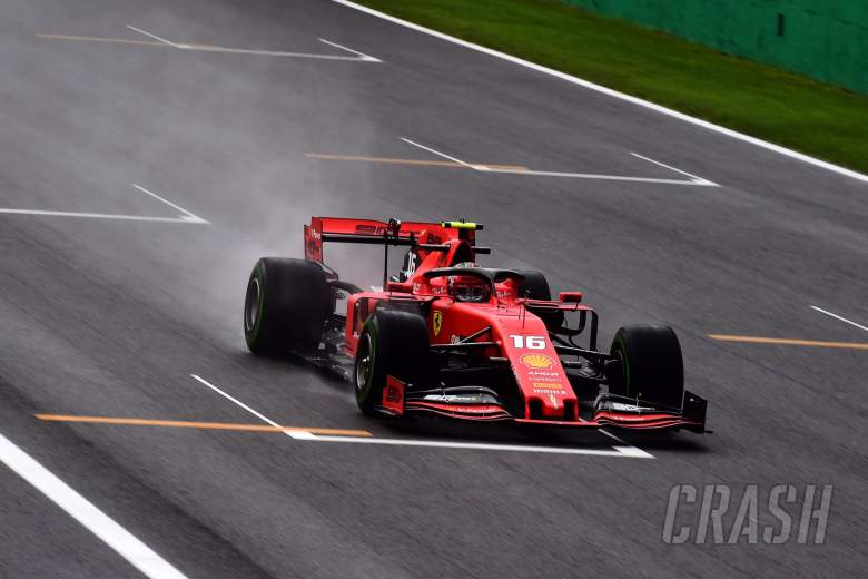 Leclerc tercepat saat tiga bendera merah mengganggu Monza FP1