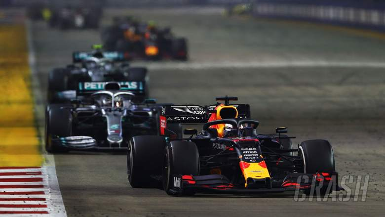 """Verstappen says Singapore GP a """"wake-up call"""" for Red Bull"""