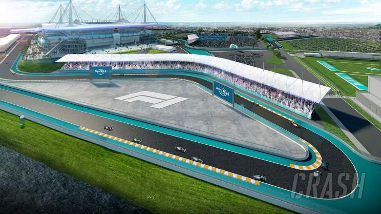 Kantungi Kontrak 10 Tahun, F1 GP Miami Digelar Mulai 2022