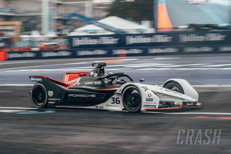 Lotterer mengklaim tiang Formula E pertama Porsche