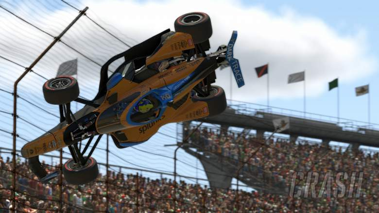 WATCH the controversial 'take Norris out' IndyCar incident
