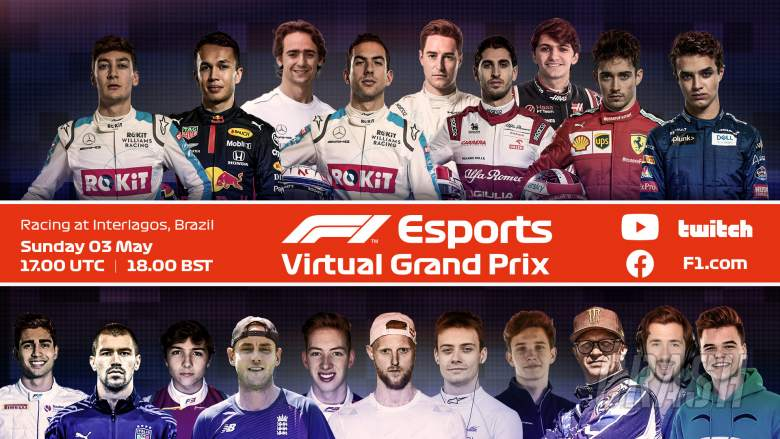 As it happened: F1 Dutch Virtual Grand Prix