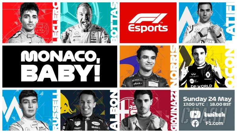 Esports: How to watch the Monaco F1 Virtual Grand Prix?