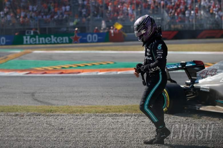 """Selamat dari Insiden Monza, Hamilton: """"Seseorang Melindungi Saya"""""""
