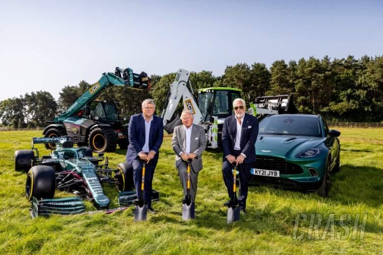 Aston Martin Memulai Kontruksi Pabrik Baru untuk Tim F1