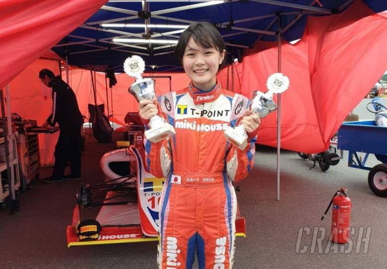 14-year old daughter of ex-F1 driver wins on European race debut