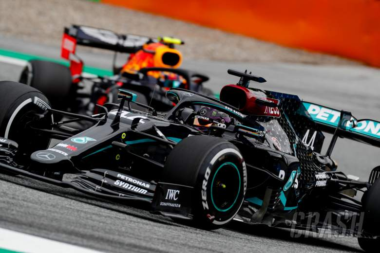 Hamilton taking Mercedes' strong start 'with a pinch of salt'