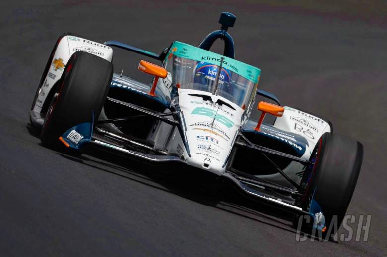 Alonso 'didn't have one lap of kindness' at Indy 500