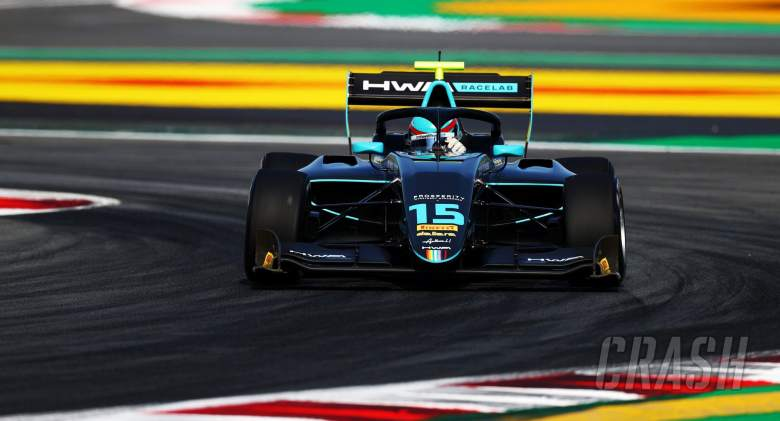 Hughes mengklaim kemenangan F3 pertama dalam lebih dari setahun di Barcelona