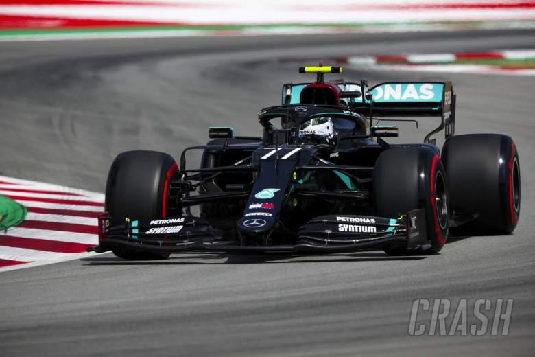 "Small gap to Hamilton for Spanish GP F1 pole ""annoying"" - Bottas"
