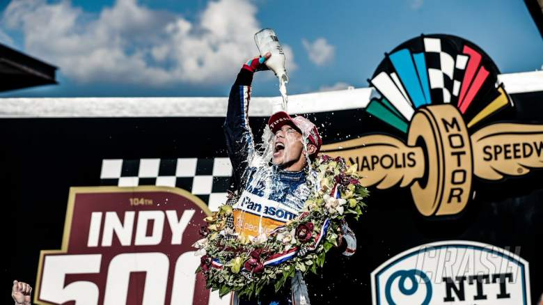 Alonso's wait for triple crown goes on as Sato wins Indy 500
