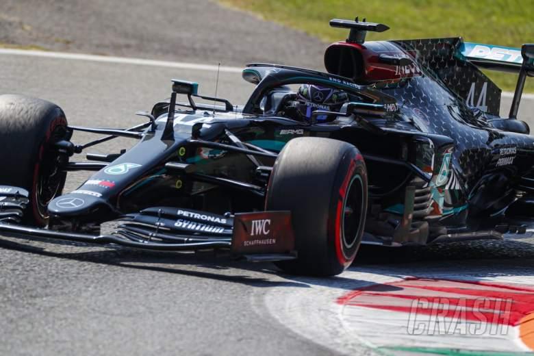 Hamilton mengklaim tiang GP Italia dengan lap F1 tercepat yang pernah ada