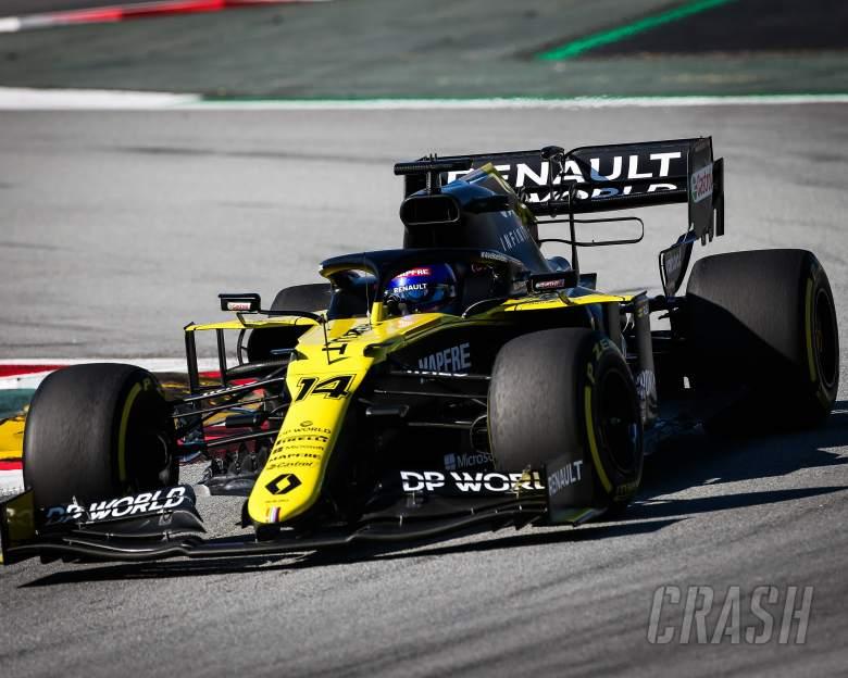 Renault F1 car 'outperformed' Fernando Alonso on testing return