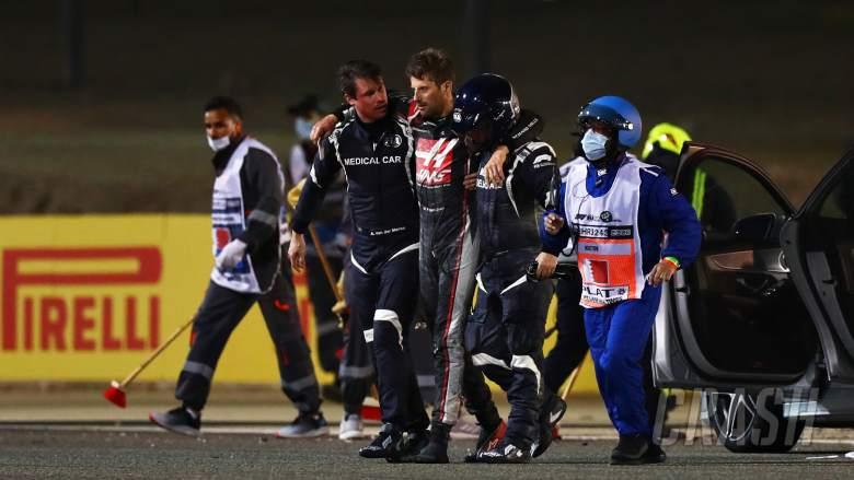 'Saya belum pernah melihat api sebanyak itu' - pengemudi mobil medis F1 bereaksi setelah tindakan heroik