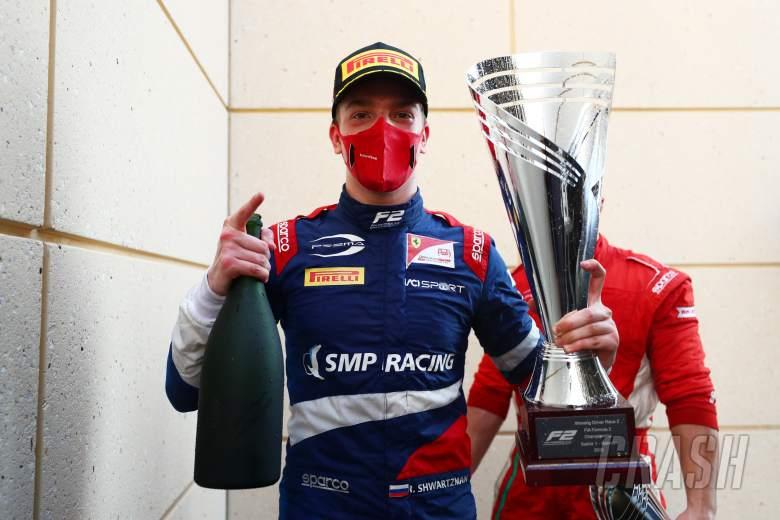 Shwartzman storms to F2 Bahrain sprint race win as Schumacher extends lead