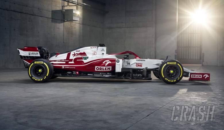 Alfa Romeo reveals 2021 F1 car in Warsaw launch event