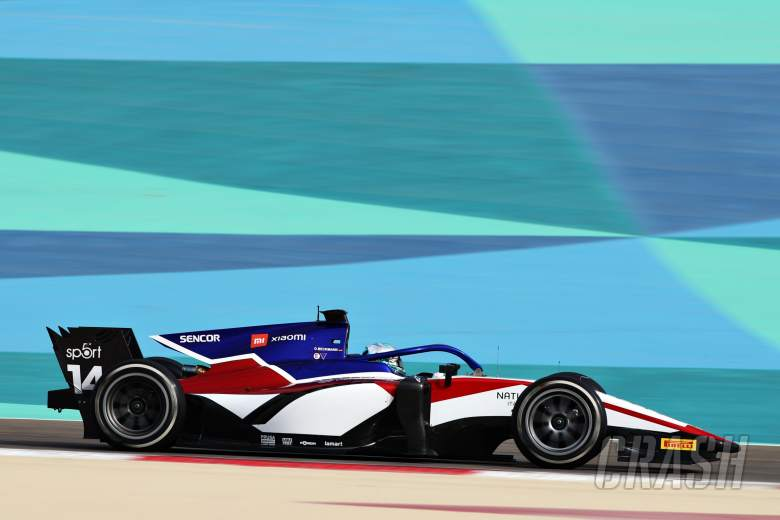 Beckmann fastest overall on opening day of F2 testing in Bahrain