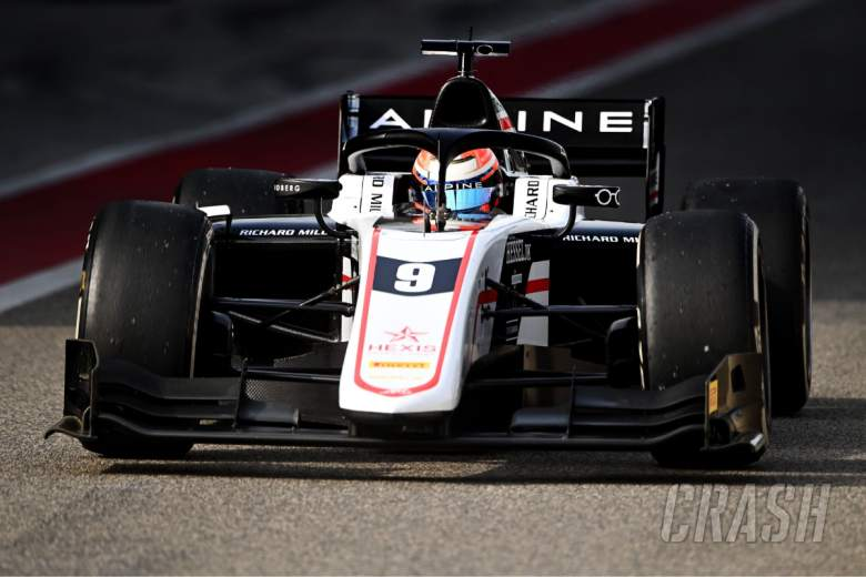 Lundgaard fastest overall on second day of F2 test in Bahrain