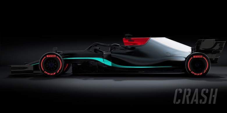 Mercedes tease black and silver livery ahead of W12 F1 car launch