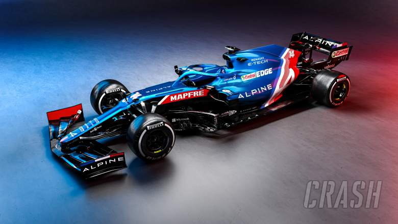 Alpine unveils A521 car for new era as Alonso returns to F1
