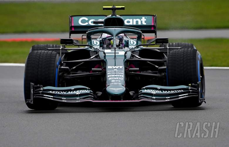 Vettel makes Aston Martin debut as 2021 F1 car hits track at Silverstone