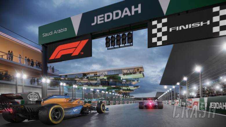 FIRST LOOK: Onboard lap of the new Jeddah F1 Street Circuit