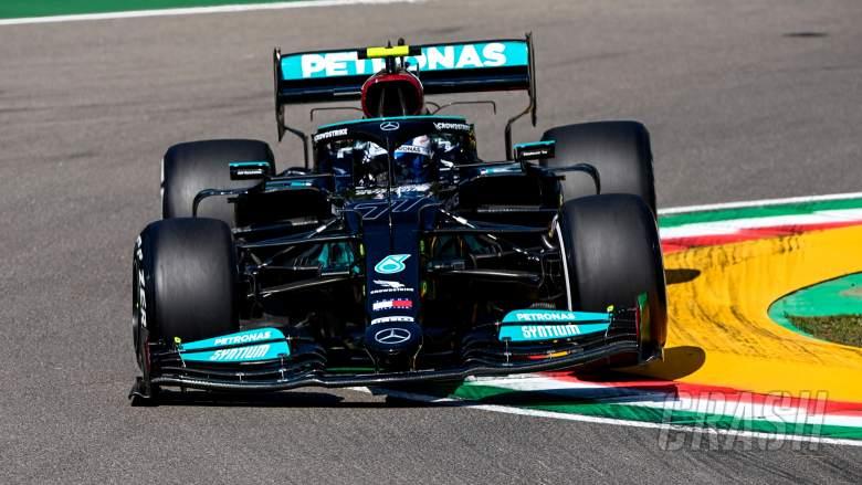 F1 GP Emilia Romagna: Bottas Pimpin FP1, Perez-Ocon Tabrakan