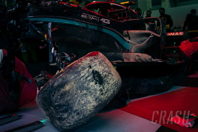 "Power unit in Bottas' Mercedes F1 car mostly ""damaged beyond repair"""